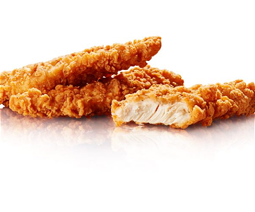 Foto Chicken strips 3 st.