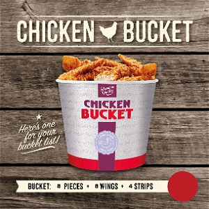 Foto Chicken bucket